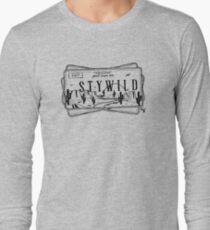 Arizona STY WILD License Plate Long Sleeve T-Shirt