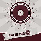 Vinyl All Stars by modernistdesign