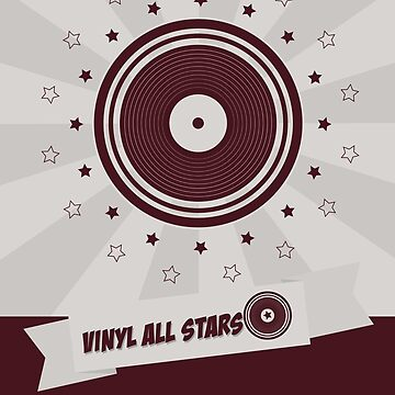 Vinyl All Stars by modernistdesign