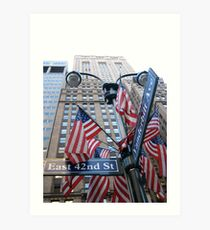Avenue of the Americas Art Print