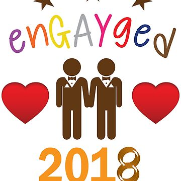 Gay Engagement 2018 EnGAYged by teashorts