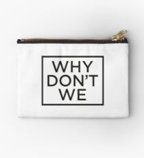 Why Don't We  Studio Pouch