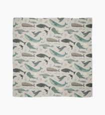 Whale song gray Scarf