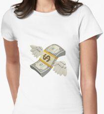 Flying Money Emoji T Shirts Redbubble