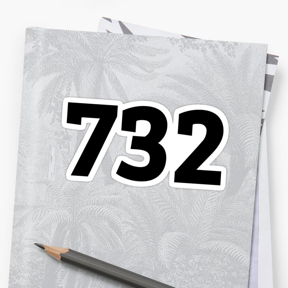 732 Sticker