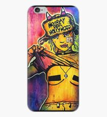 Hooray For Hollywood iPhone Case