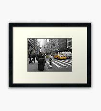 5th Avenue Framed Print