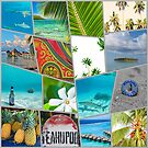 Tahiti Collage by Angelina Hills
