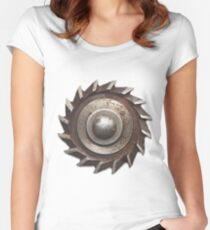 CyberPunk Steampunk Technopunk  #CyberPunk #Steampunk #Technopunk Women's Fitted Scoop T-Shirt