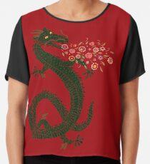 Blusa Dragón, respiración de flor
