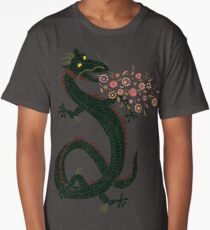 Dragon, Flower Breathing Long T-Shirt