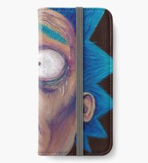 Rick and Morty-- trippy Rick iPhone Wallet/Case/Skin
