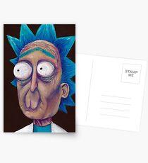 Postales Rick y Morty-- Rick Trippy