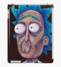 Rick and Morty-- trippy Rick iPad Case/Skin