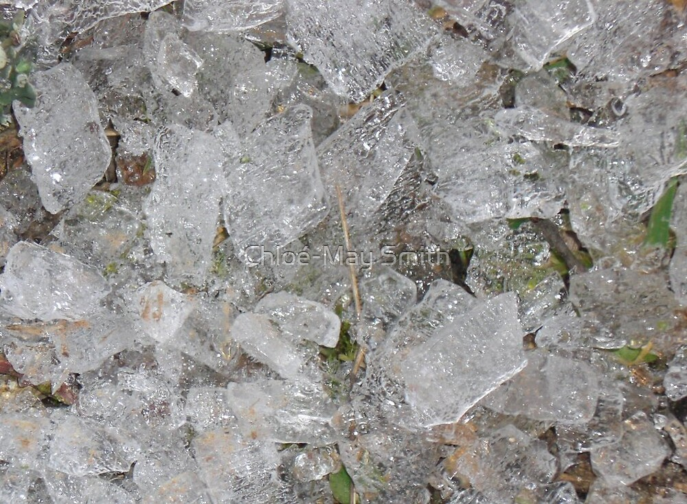 Ice droplets by Chloé-May Smith