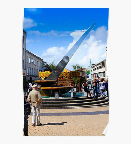 Plymouth Sundial: City Centre Poster