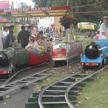 Mini Railway, Easter Show, Homebush, NSW, Australia 2017 by muz2142
