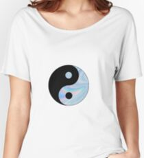 Holographic Yin Yang Women's Relaxed Fit T-Shirt