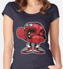Boxing Champion Women's Fitted Scoop T-Shirt