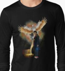 Time traveller with magic bag Long Sleeve T-Shirt