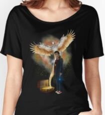 Time traveller with magic bag Women's Relaxed Fit T-Shirt