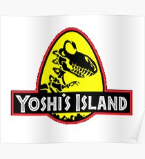 Yoshi Island Poster