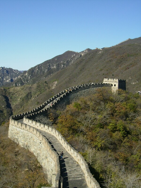 Great Wall of China by Jessica Bawden