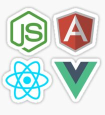 JavaScript Library Pack Sticker