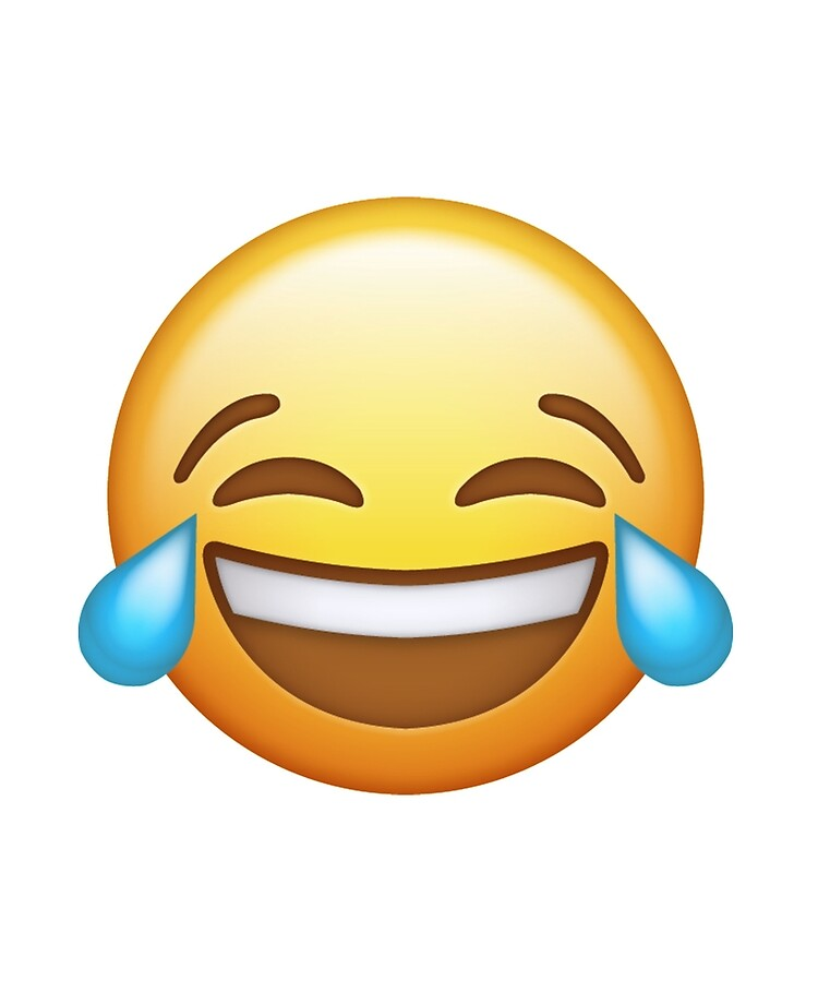 """Laughing Face Emoji"""" iPad Case & Skin by t-I-na 