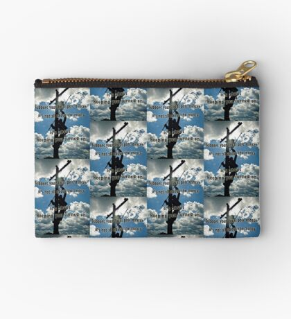 Support your Lineman Studio Pouch