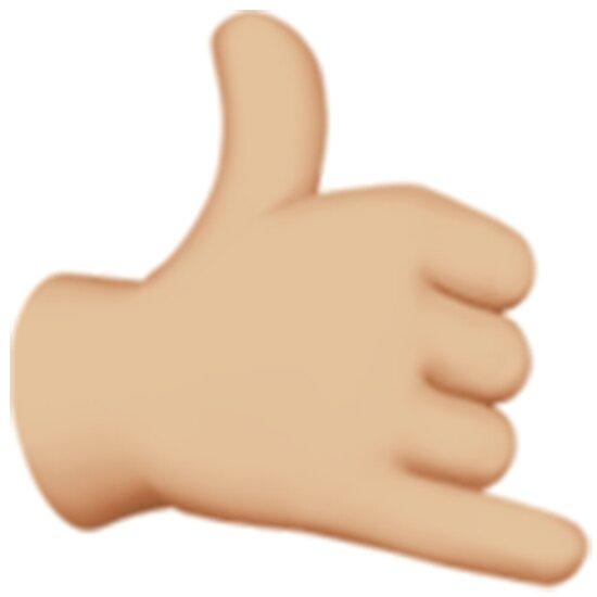 Image result for hang loose emoji
