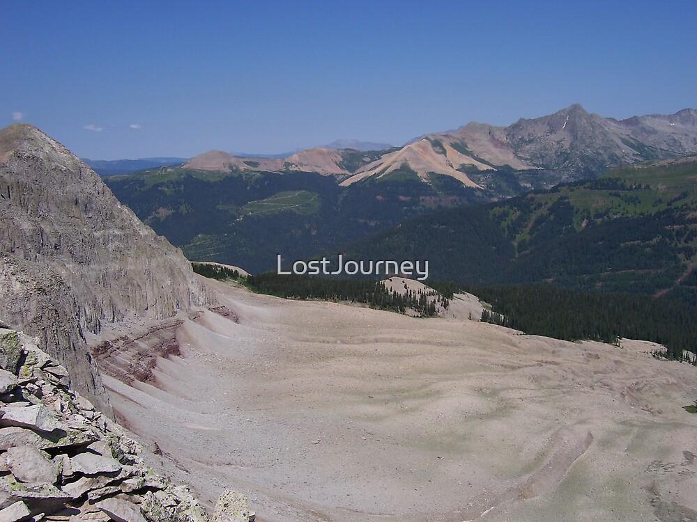 Cliffs and Landslides by LostJourney