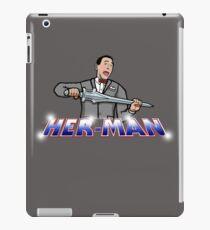 Pee Wee Her-Man iPad Case/Skin