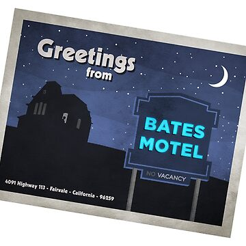 Greetings from Bates Motel! by BenFraternale
