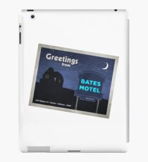 Greetings from Bates Motel! iPad Case/Skin
