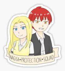 Nagisa Protection Squad Sticker