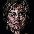 Hillary Clinton: Historic Women Portrait by ZenPop