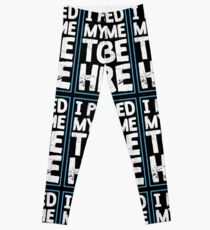 I Paused My Game To Be Here Funny Gamer Gift Leggings