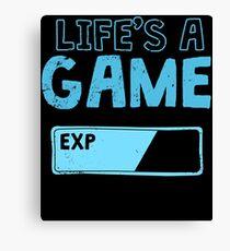 Lag Kills Funny Gamer Gift Canvas Print