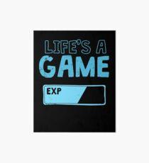 Lag Kills Funny Gamer Gift Art Board
