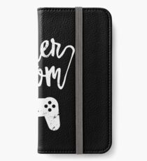 Gamer Mom Funny Retro Console Gaming iPhone Wallet/Case/Skin