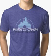 Reylo is Canon Tri-blend T-Shirt