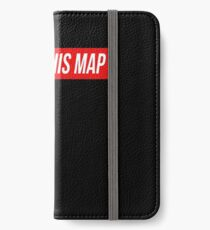 I Hate This Map Trendy Funny Gamer iPhone Wallet/Case/Skin