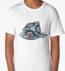 Companion Cube Long T-Shirt