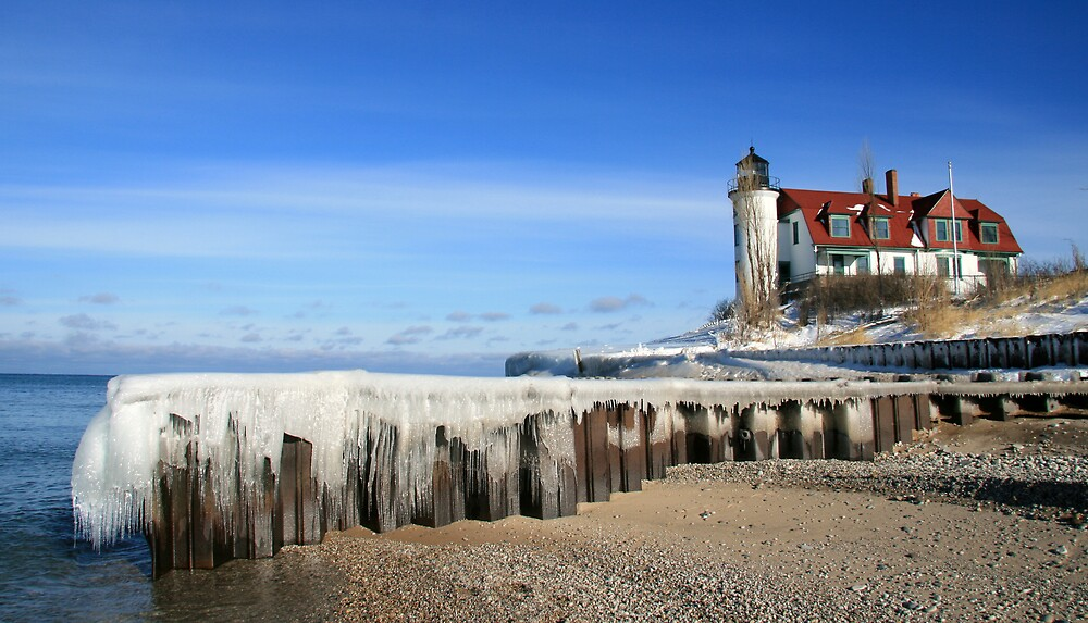 Point Betsie Lighthouse  by Vicki Oseland