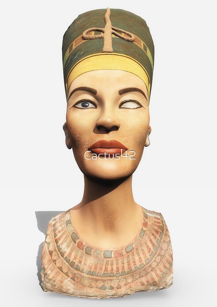 Nefertiti head by Cactus42