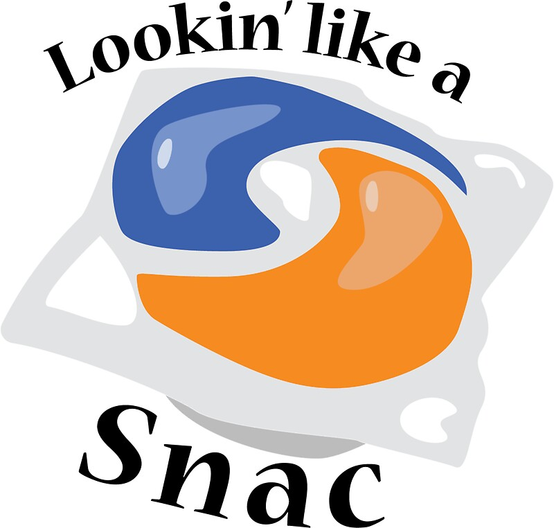 Lookin like a snac tide pods by trevor blount