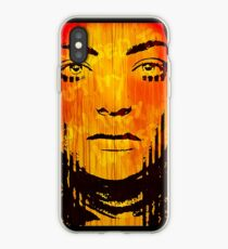The Girl On Fire iPhone Case