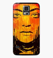 The Girl On Fire Case/Skin for Samsung Galaxy