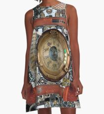 Cyberpunk, Steampunk, Technopunk, Science fiction,  SF, sci-fi,  speculative fiction A-Line Dress